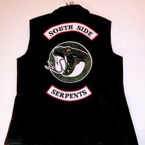 Riverdale Toni Cheryl Southside Serpent Vest XL 2X